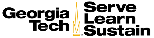 Georgia Tech Serve-Learn-Sustain logo