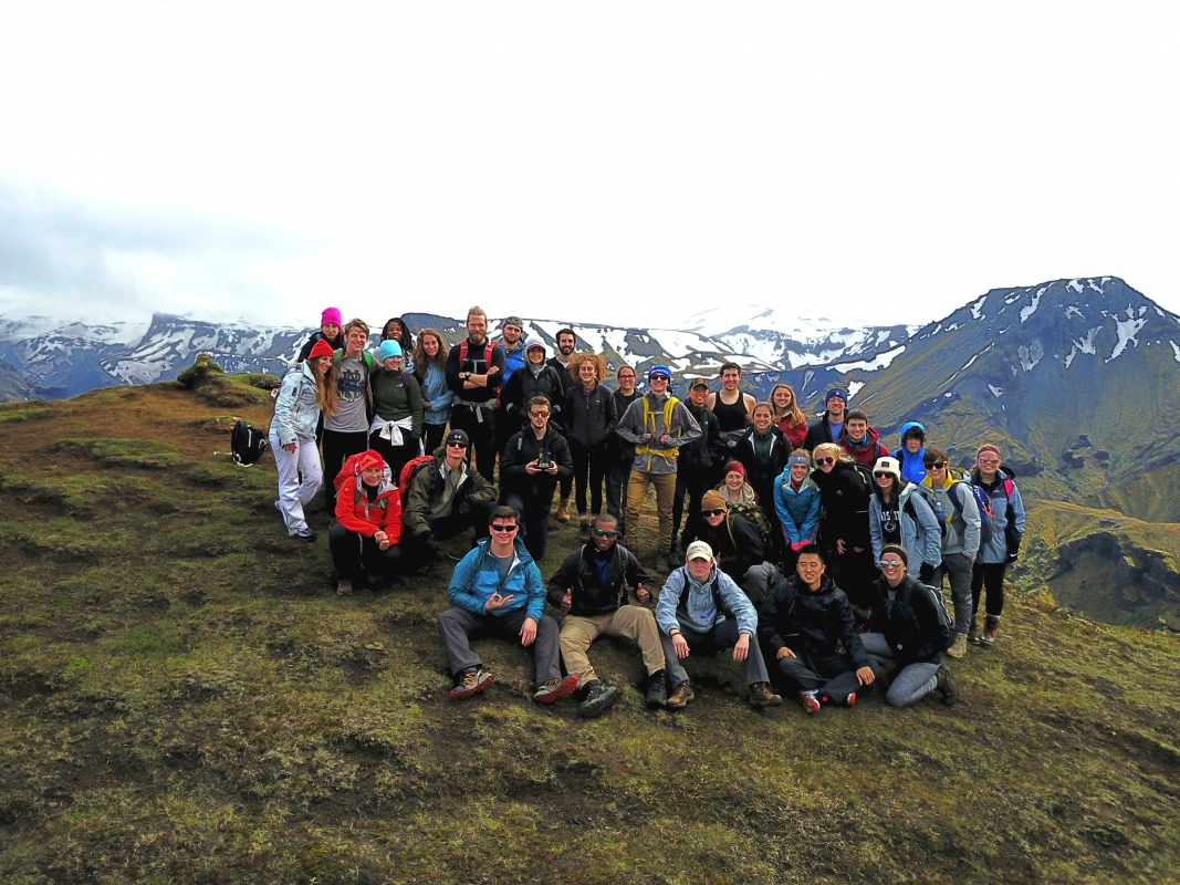 Iceland Green Program group picture